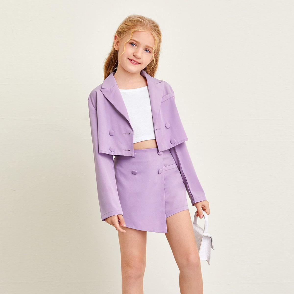 SHEIN / Mädchen Zweiteilige Outfits