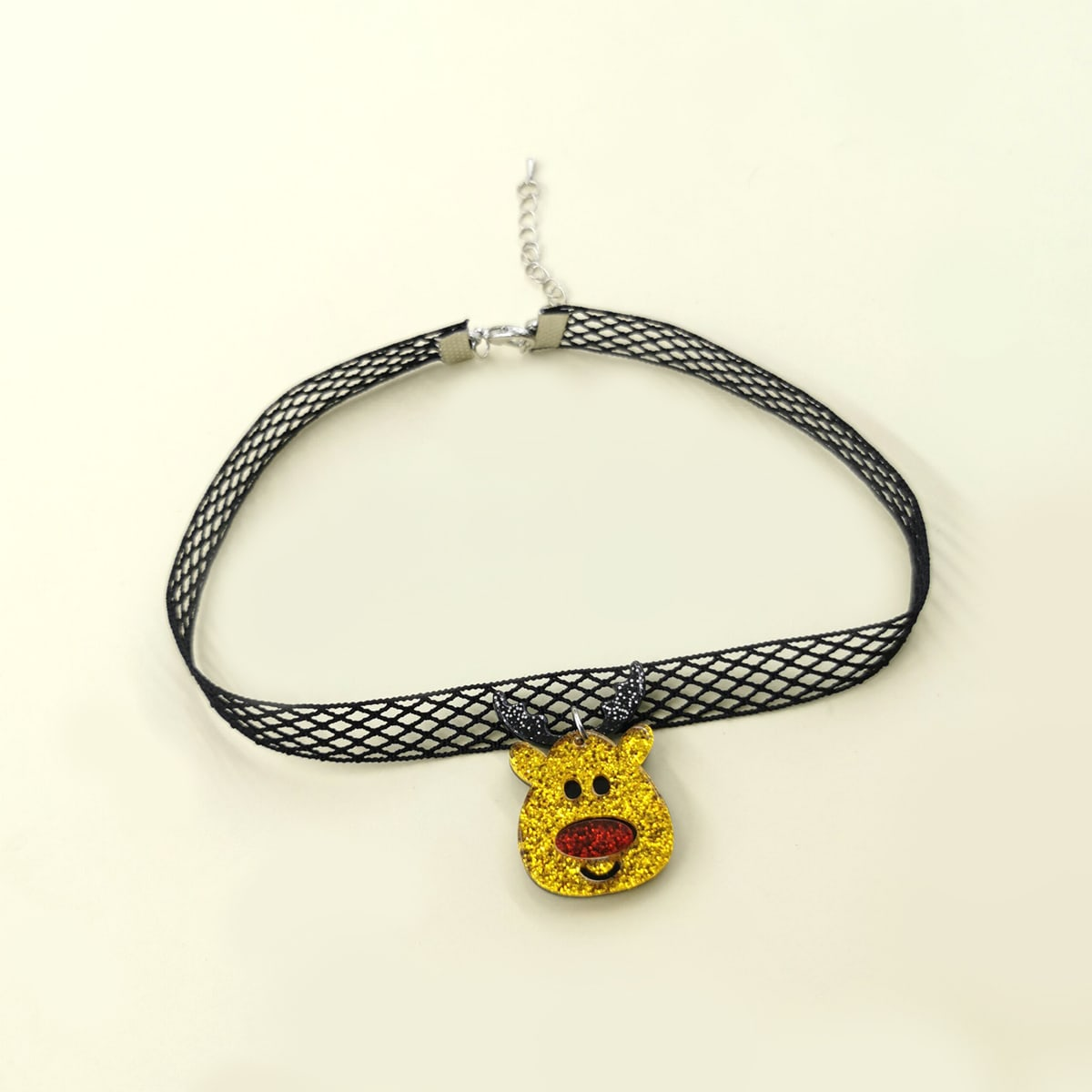SHEIN / Halskette mit Weihnachten Hirsch Anhänger