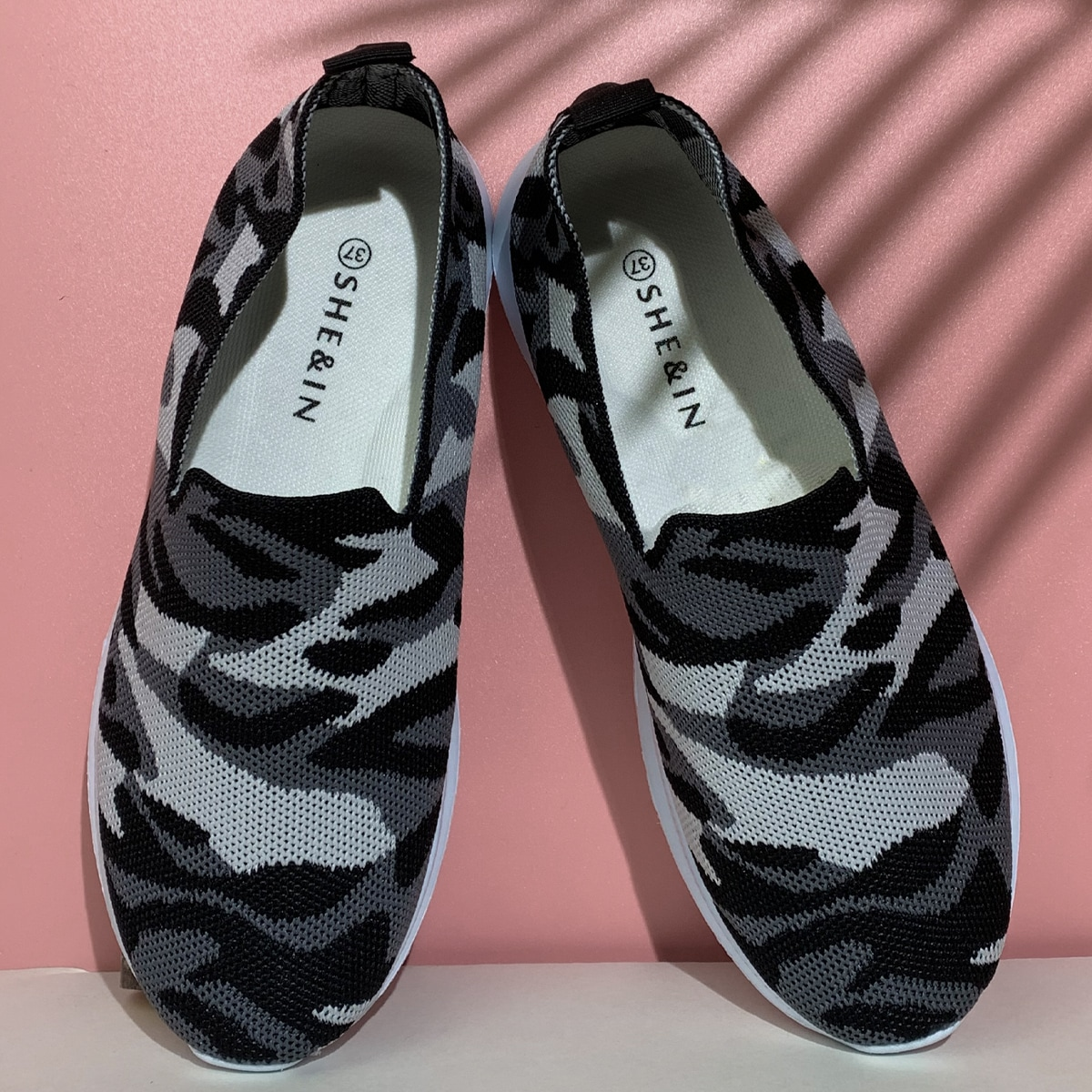 shein Camouflage Sneaker