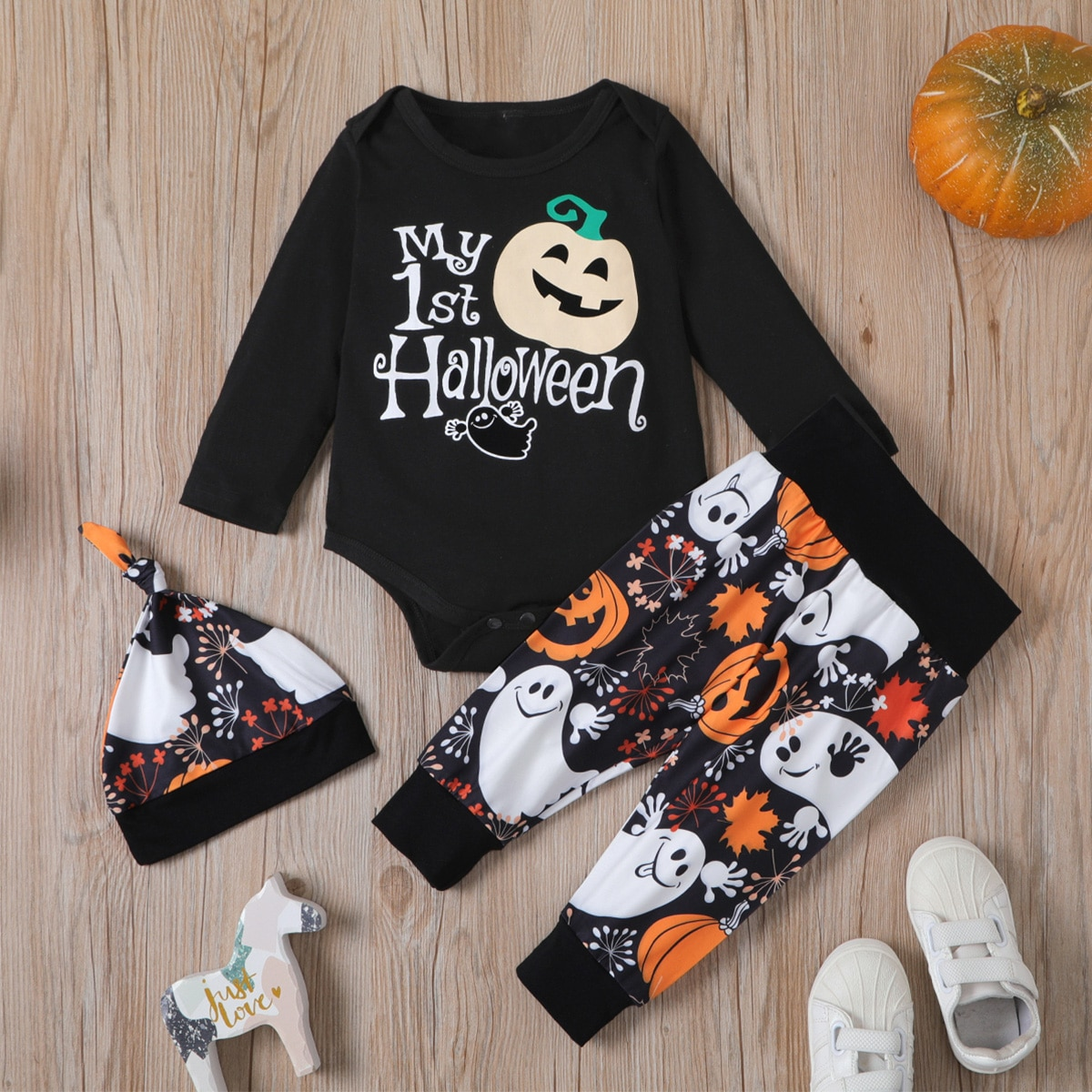 shein Casual Halloween Baby-setjes