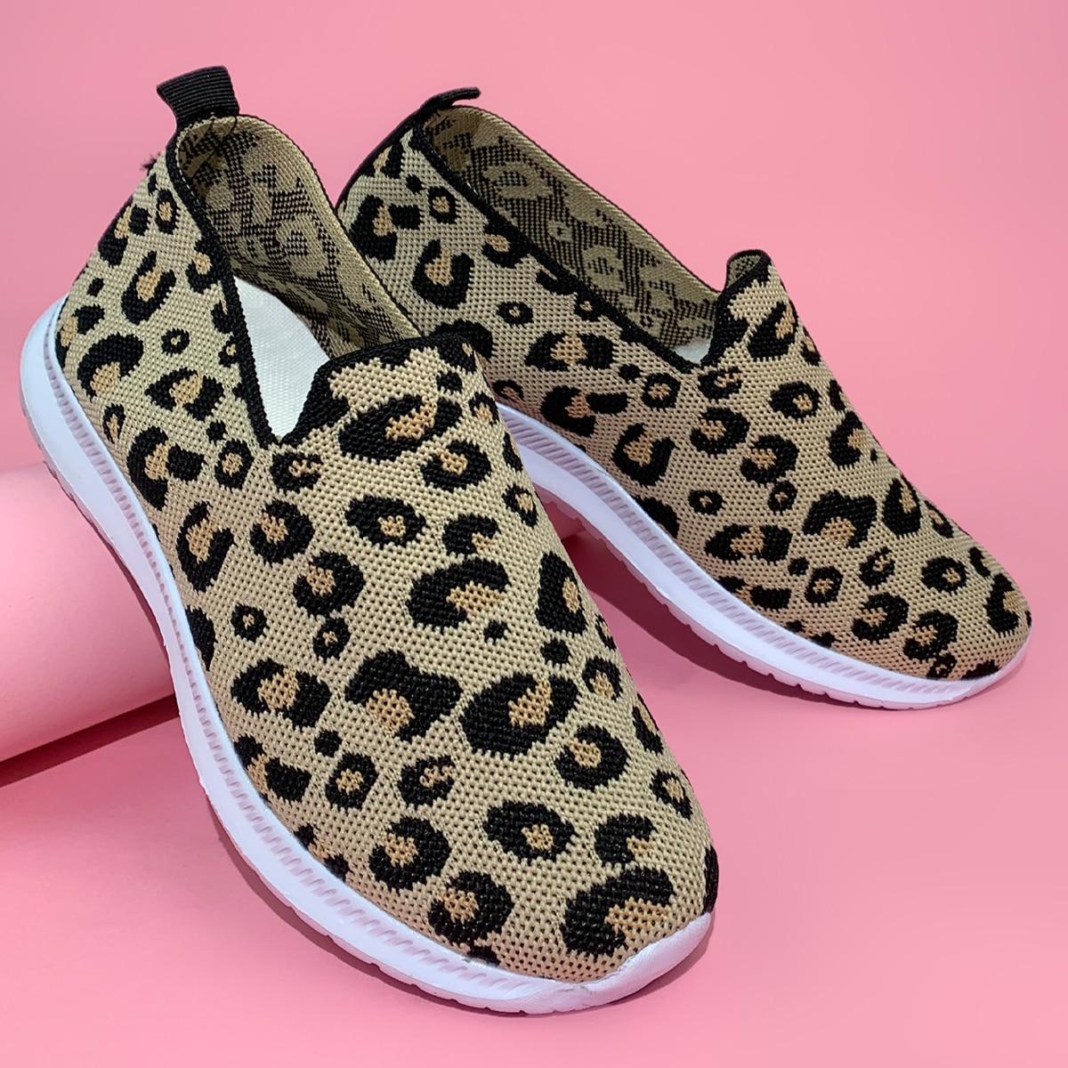 shein Luipaard Sneaker