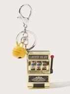 Arcade Game Machine Charm Keychain