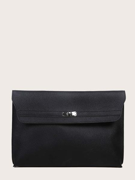 Twist Lock Clutch Bag