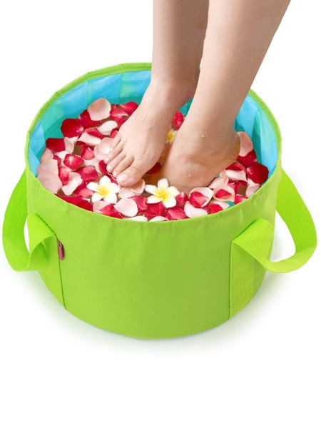 1pc Portable Random Foot Bath Bag