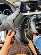 Studded Decor Wide Fit Chelsea Boots