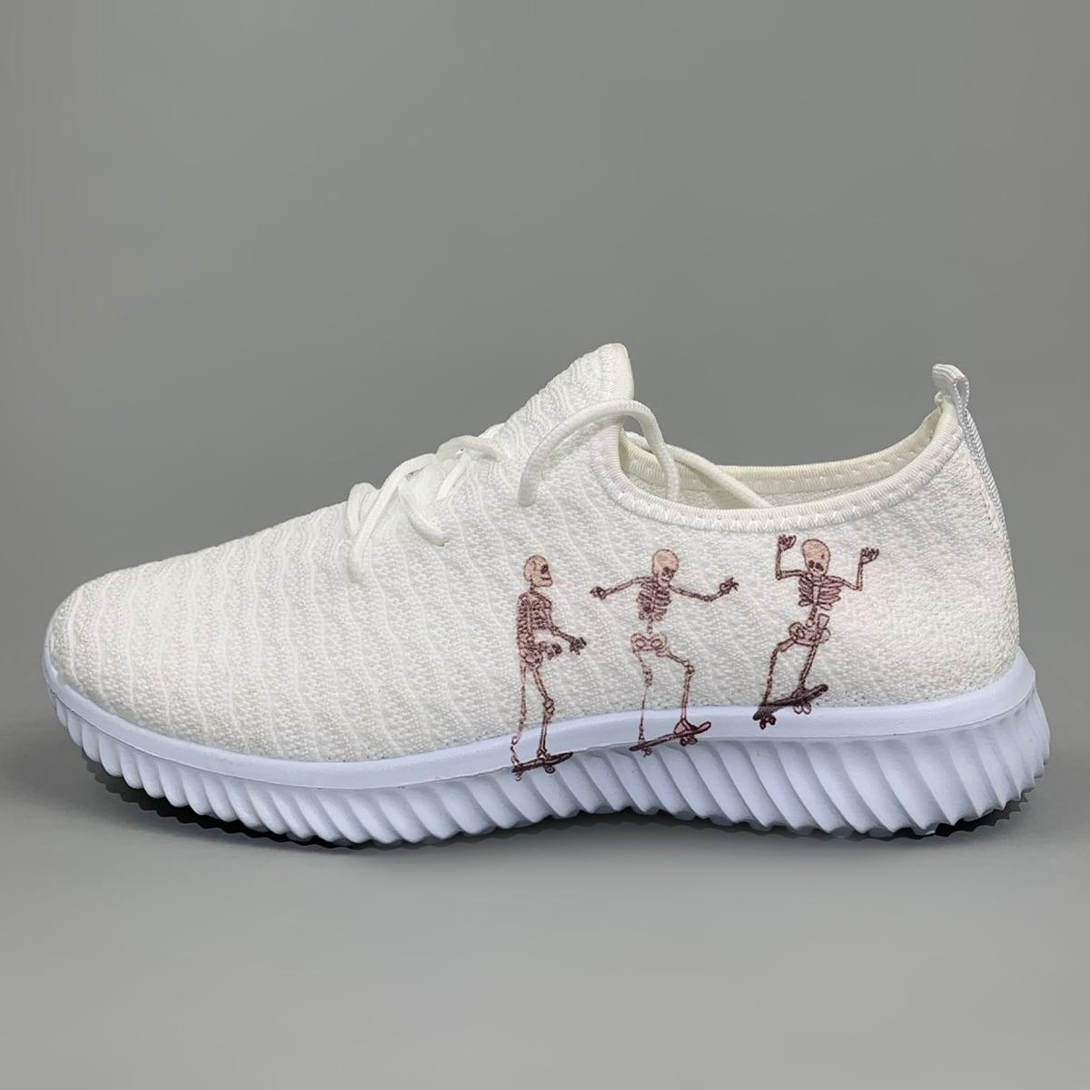 shein Spotprent Sneaker Kant