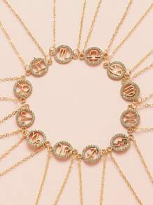 Rhinestone | Bracelet | Charm