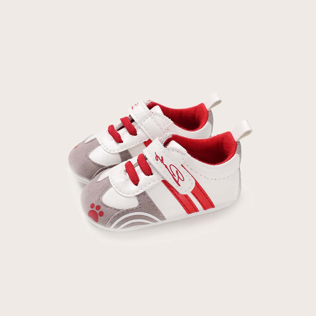 Контрастные кроссовки для девочек от SHEIN