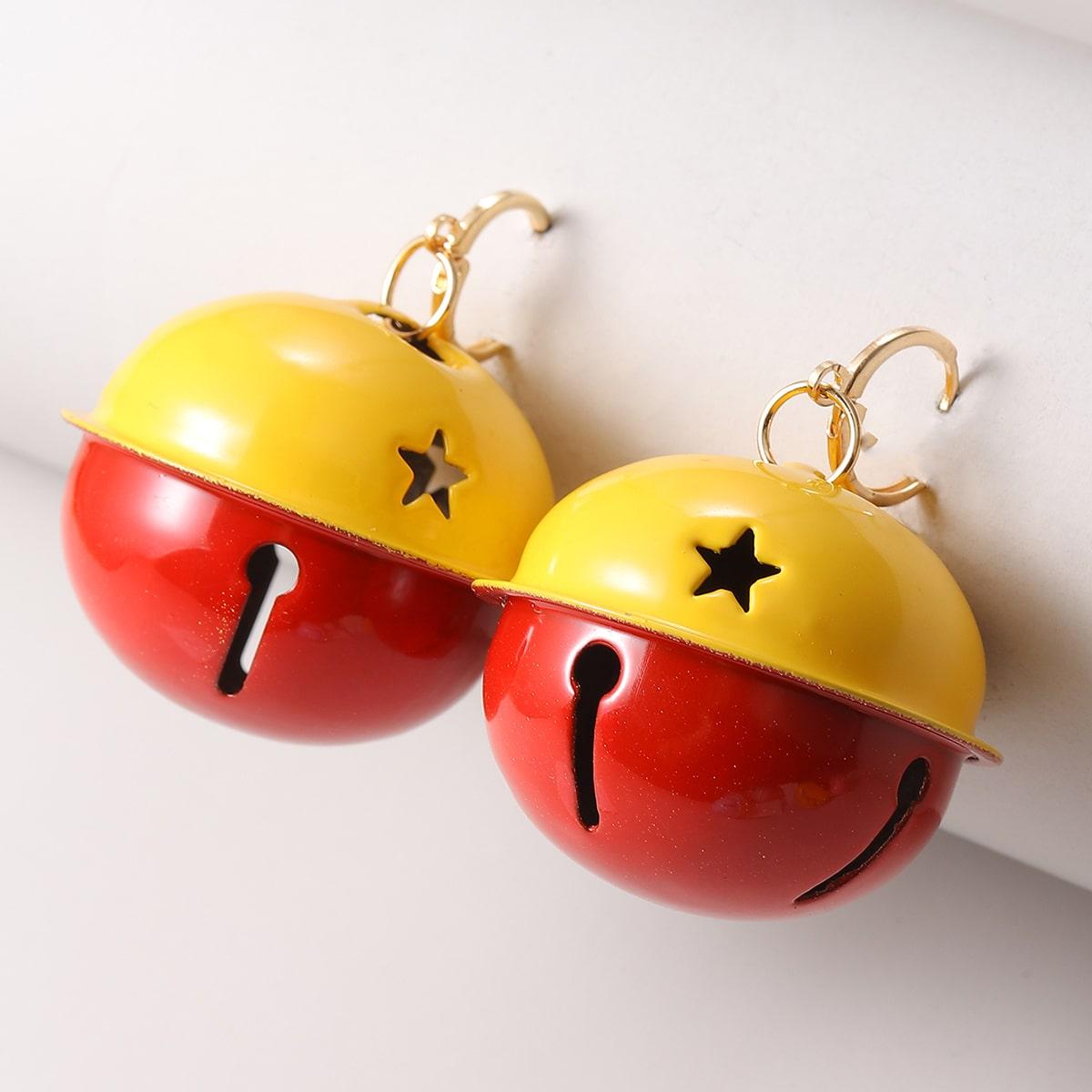 SHEIN / Weihnachten Ohrringe mit Glocken Dekor