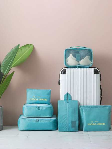 7pcs Travel Storage Bag Set