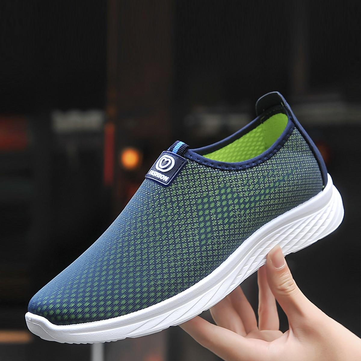 shein Kleurblok Sneaker man