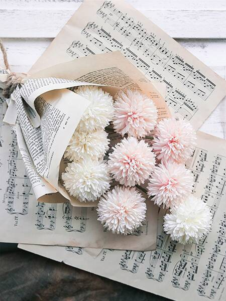 5branches Artificial Chrysanthemum