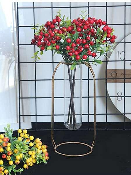 1bundle Artificial Fruit Without Vase