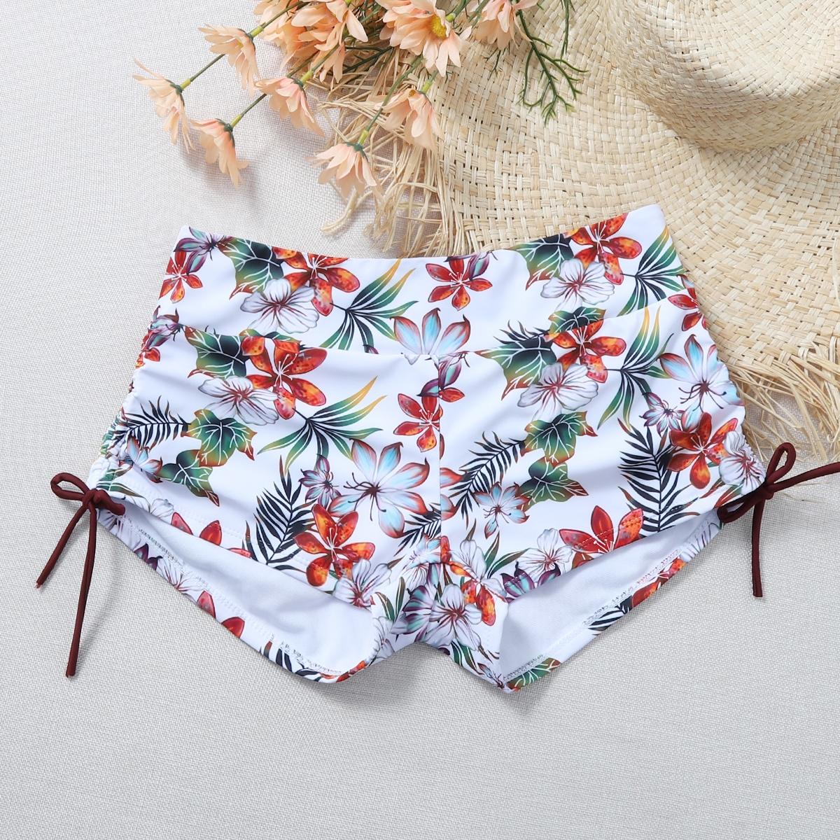 shein Boho Bloemen Bikini bottom Koord