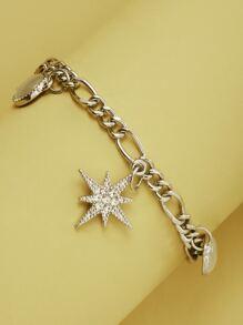 Rhinestone | Bracelet | Charm | Star