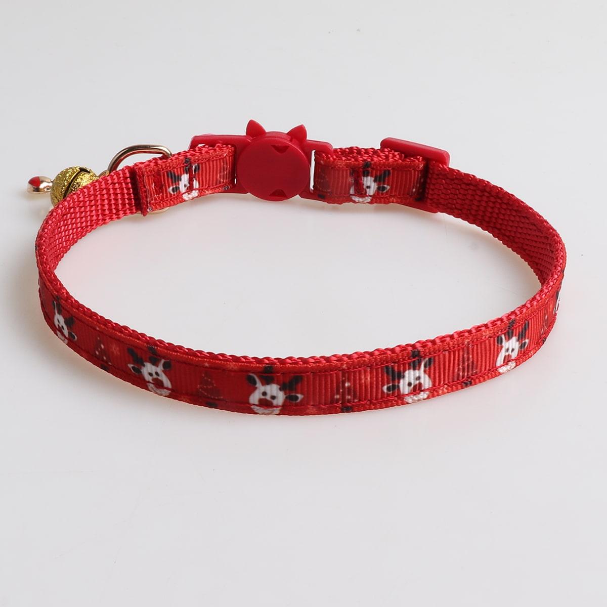 SHEIN / Katzenhalsband mit Weihnachten Hirsch Dekor