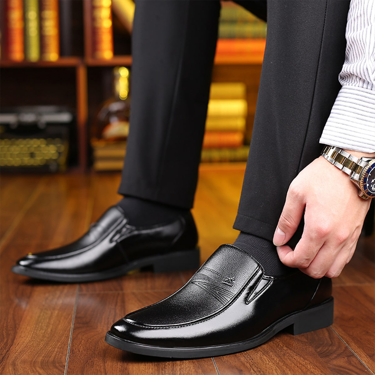shein Vlak Gekleede schoenen