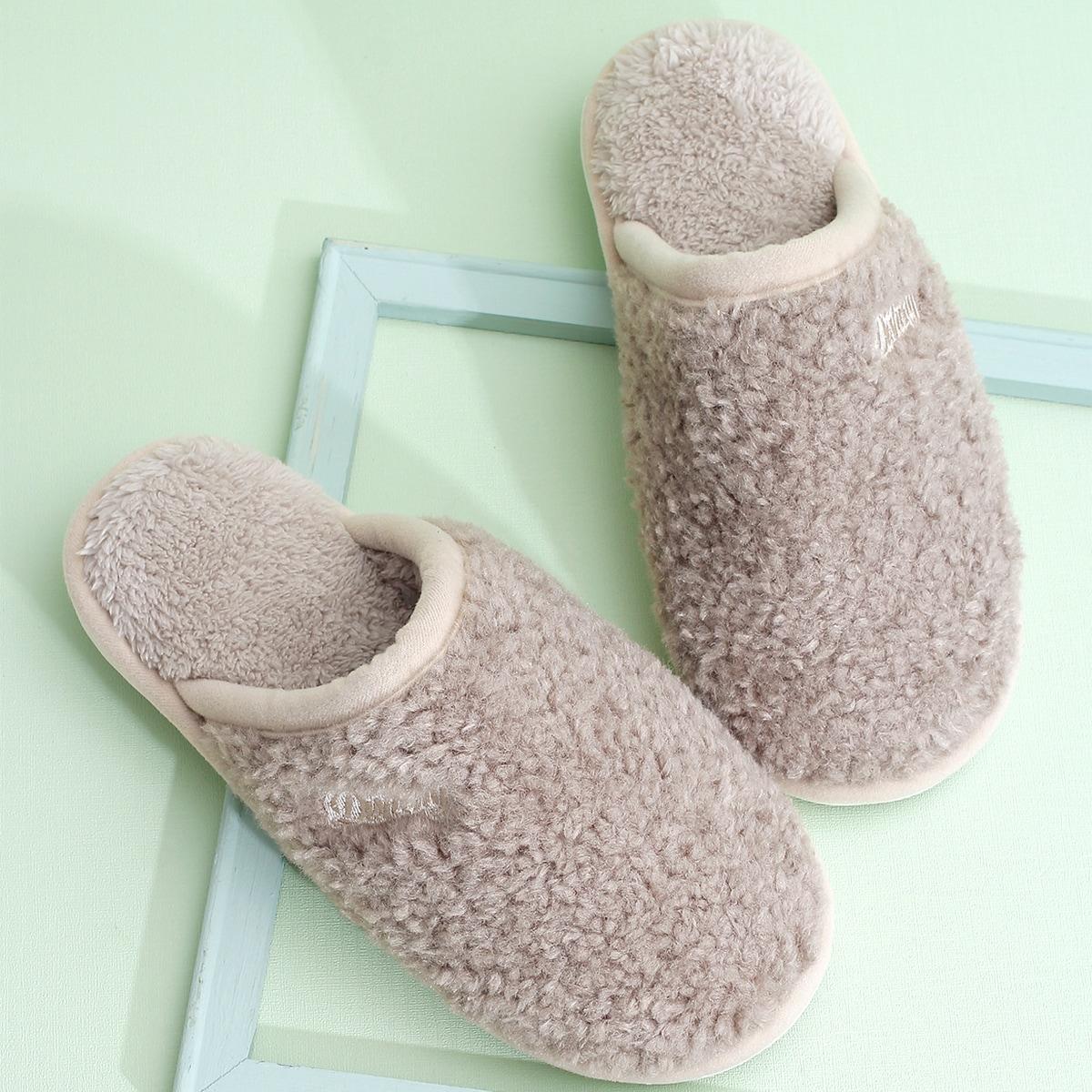shein Tekst Heren slippers