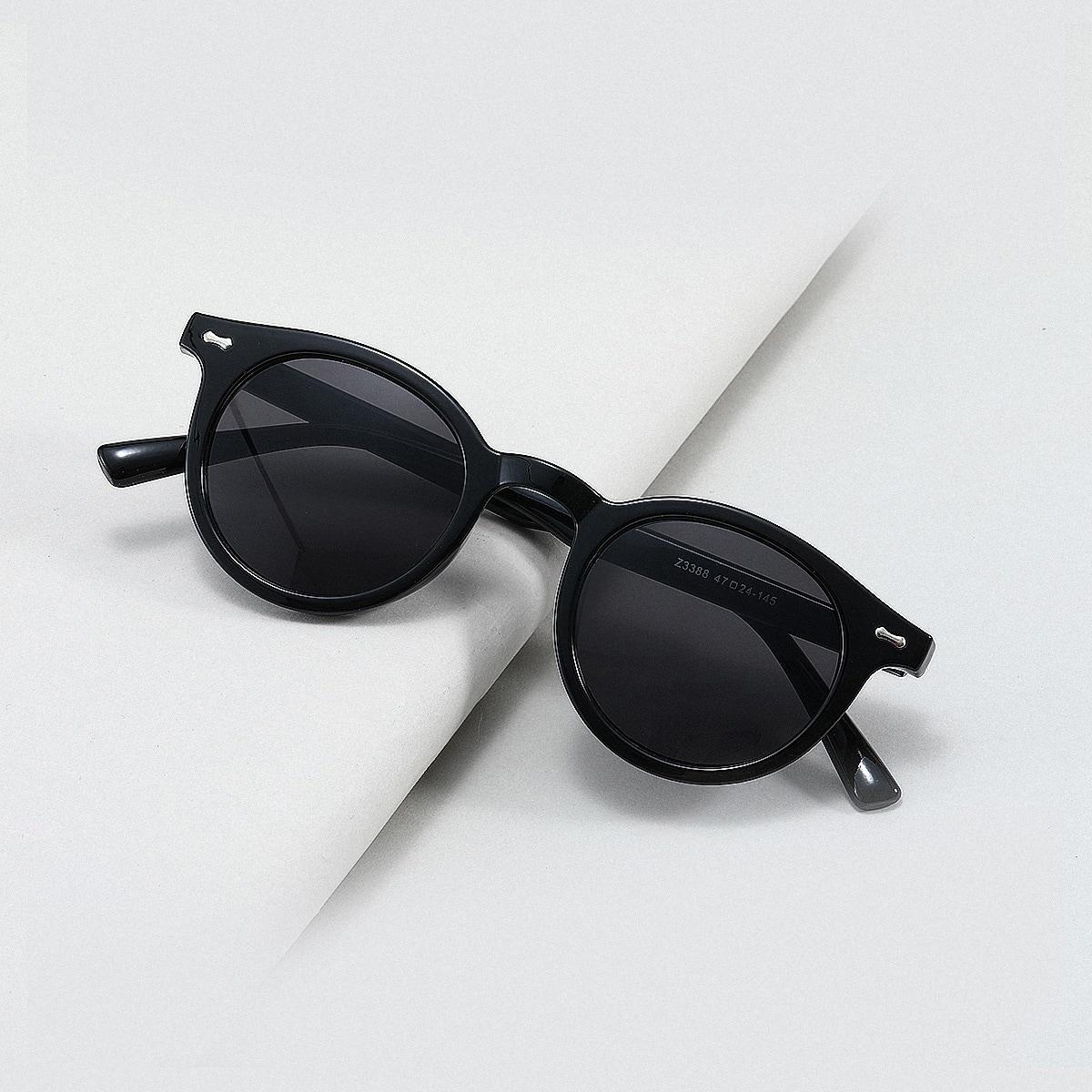 shein Minimalistische zonnebril voor heren