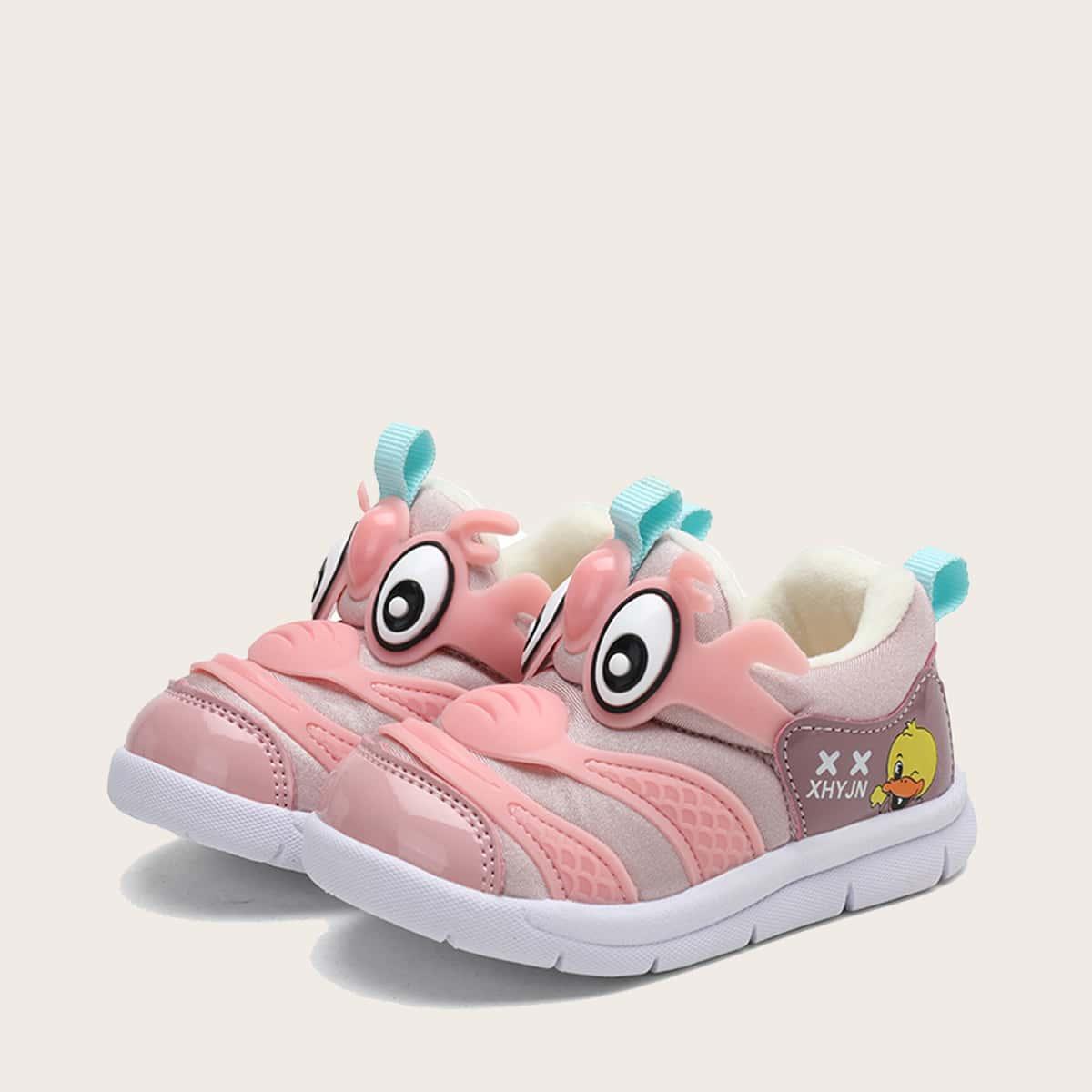 Мультипликационные кроссовки для девочек от SHEIN