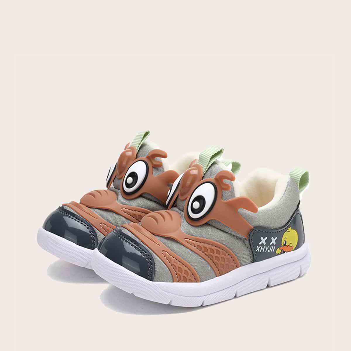 Мультипликационные кроссовки для мальчиков от SHEIN
