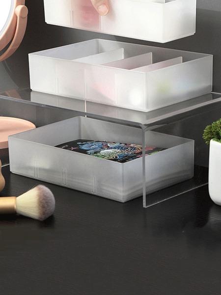1pc 4 Grid Storage Box
