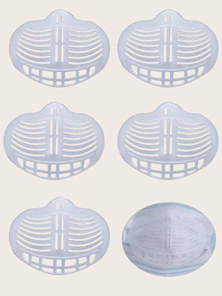 5pcs Solid Face Mask Holder