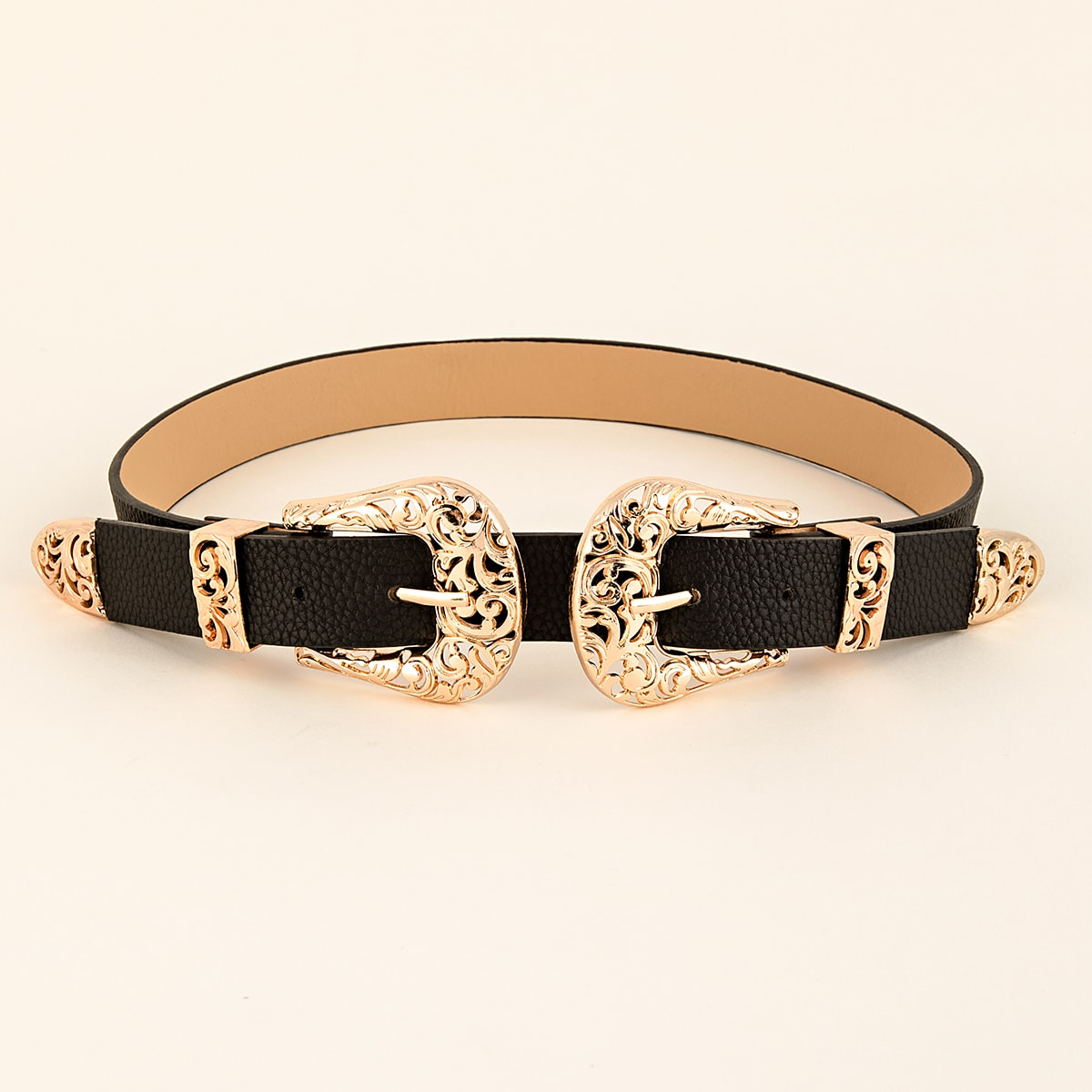 SHEIN / Hollow Out Western Buckle Belt