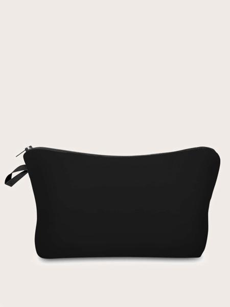 Solid Makeup Bag