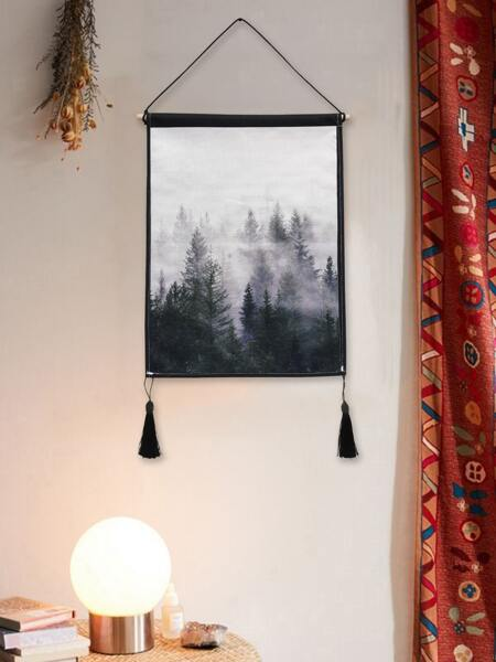 Forest Pattern Hanging Wall Art