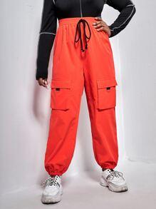 Orange | Front | Neon | Flap | Pant | Plus | Tie | Ty