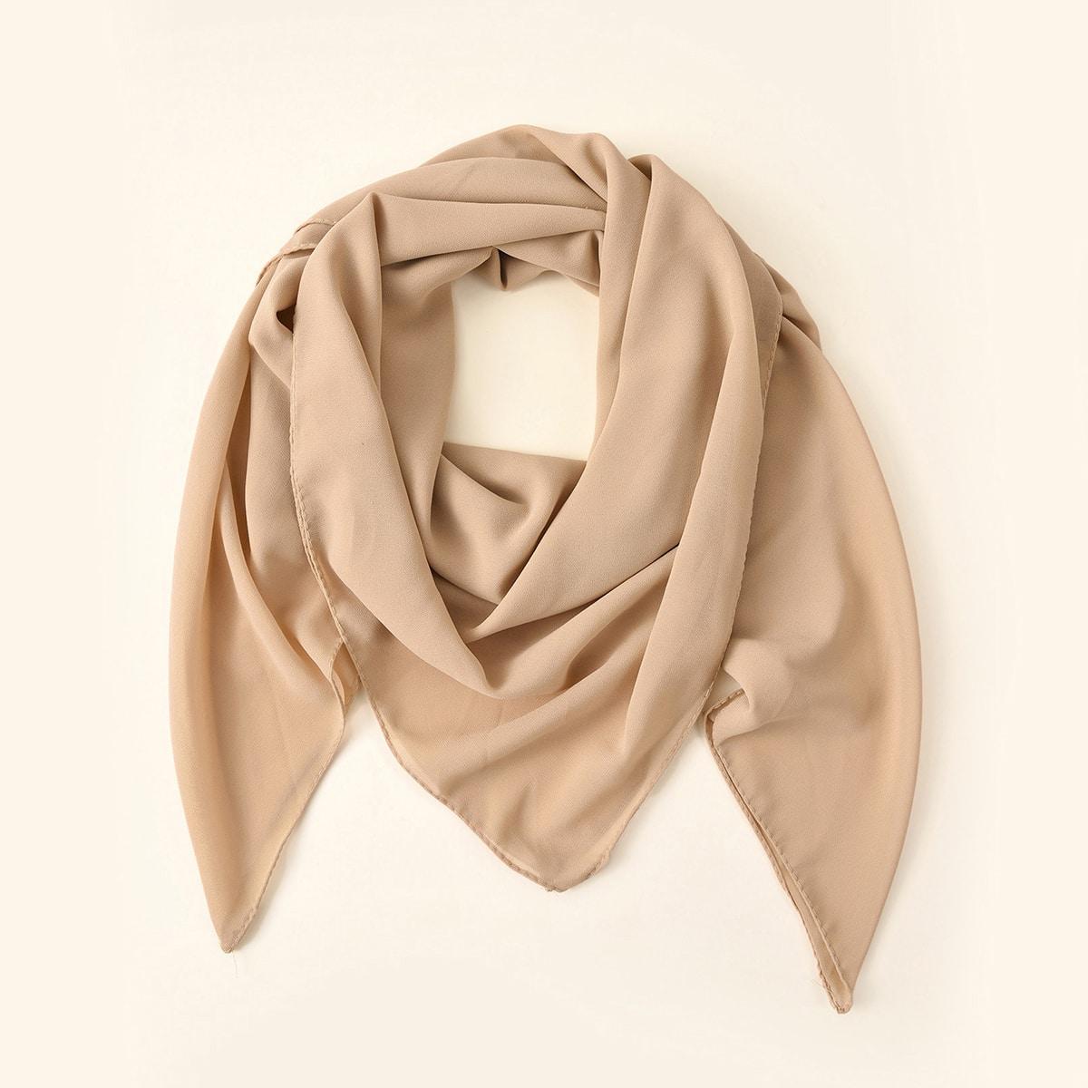 shein Eenvoudige effen sjaal