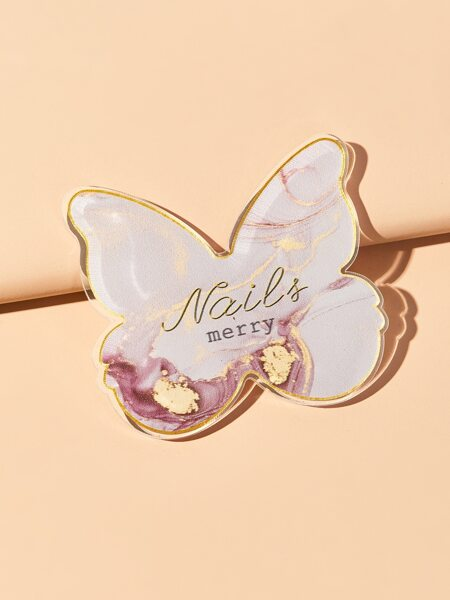 1pc Butterfly Shaped Nail Art Palette