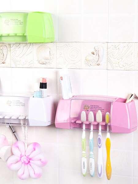 1pc Random Multifunction Toothbrush Holder