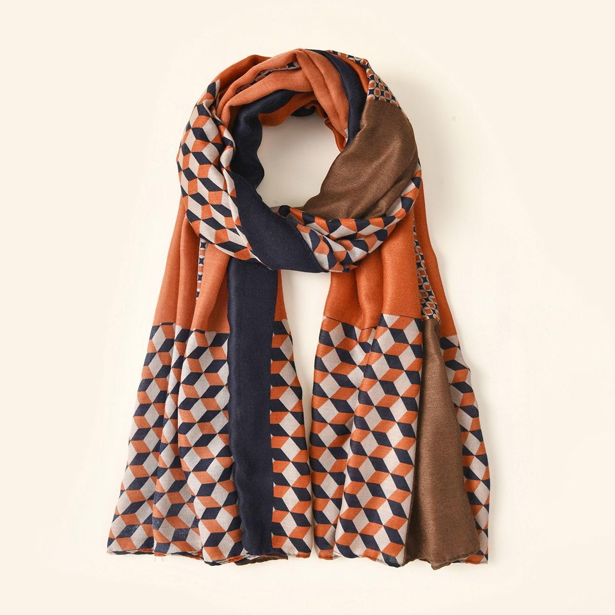 shein Geo Pattern Sjaal
