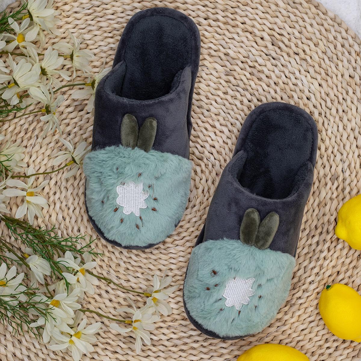 shein Kleurblok Heren slippers