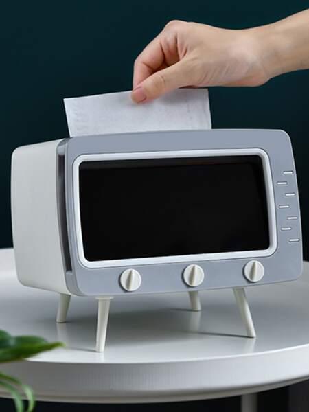 1pc TV Shaped Tissue Storage Box