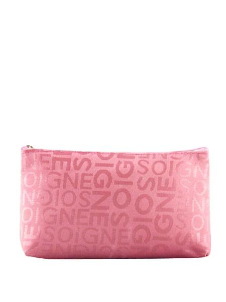 Simple Letter Graphic Makeup Bag
