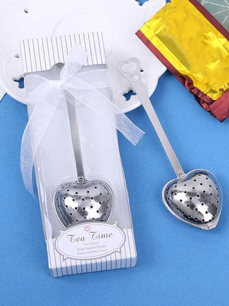 1pc Heart Design Tea Filter