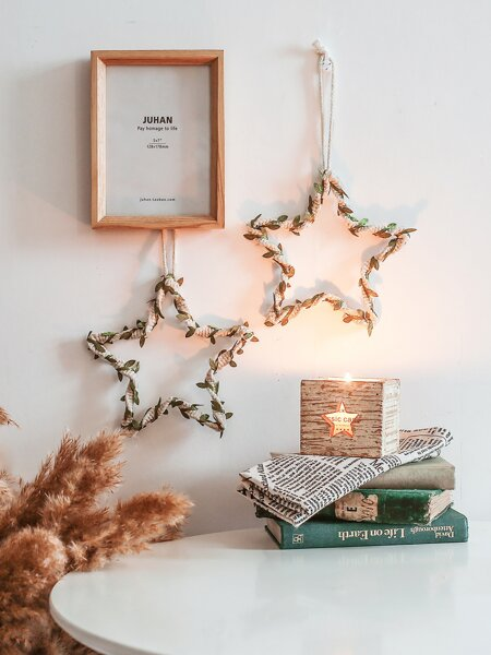1pc Star Woven Wall Hanging