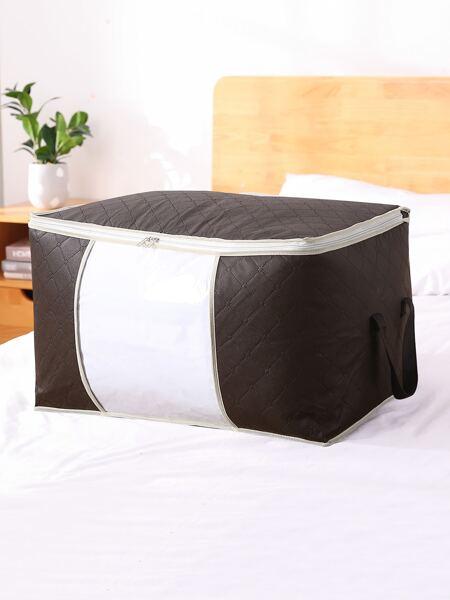 1pc Plain Quilt Storage Bag