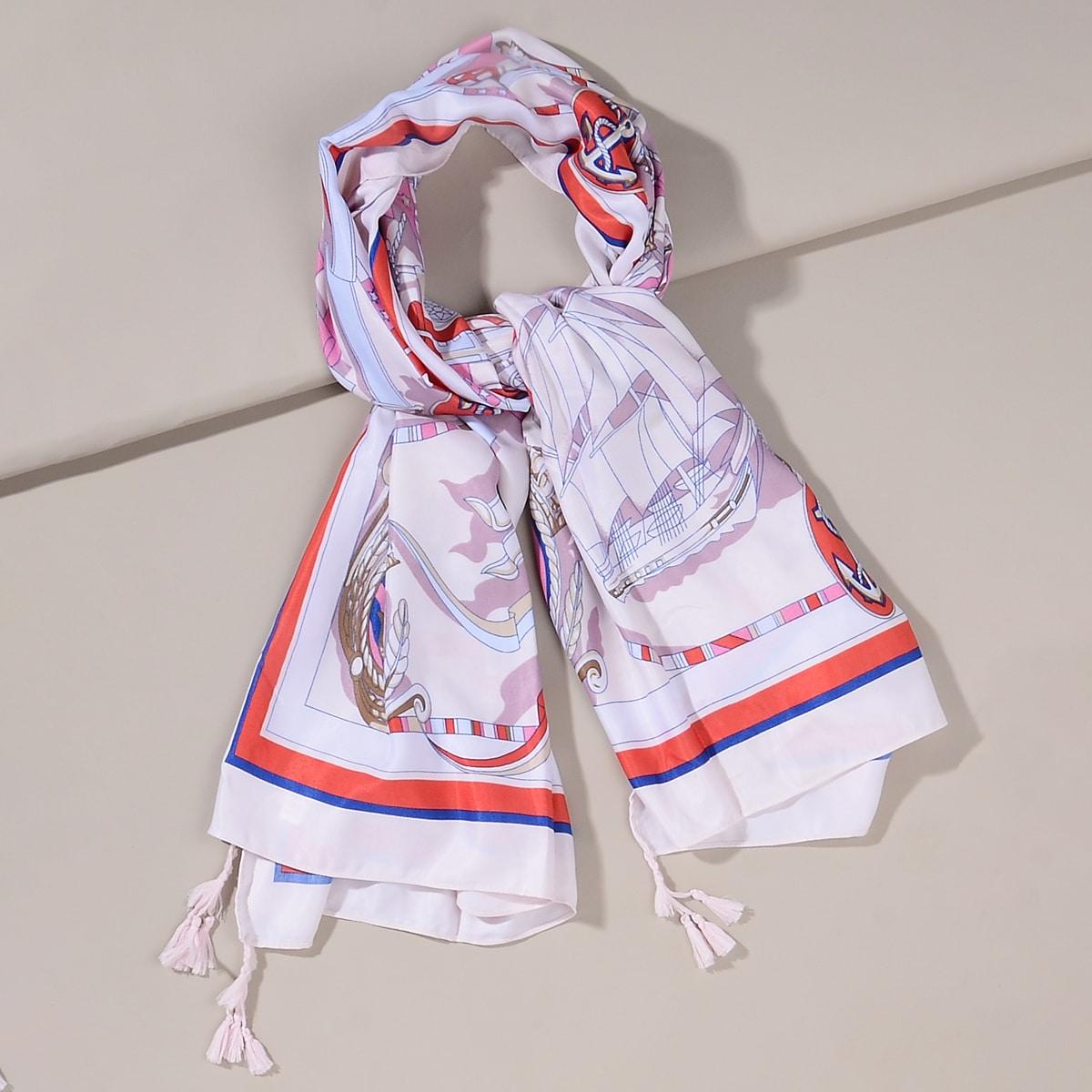 shein Ankerpatroon sjaal