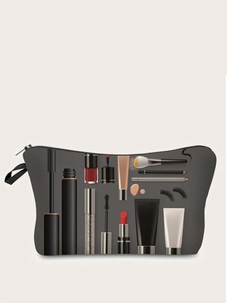 Cosmetic Print Makeup Bag