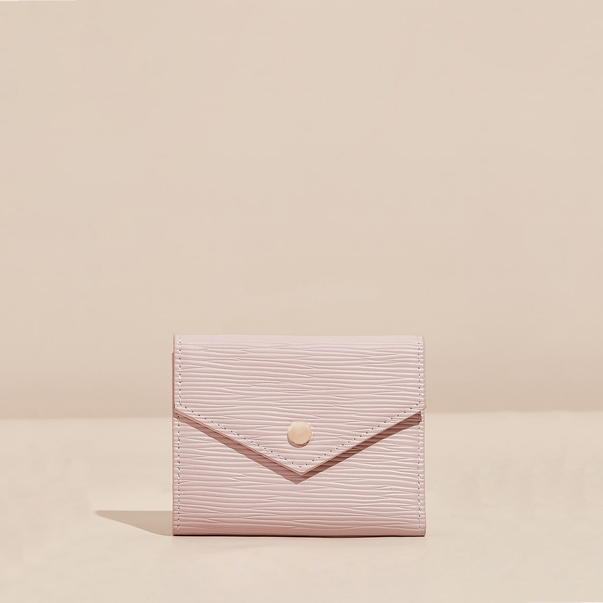 Textured Fold Over Purse
