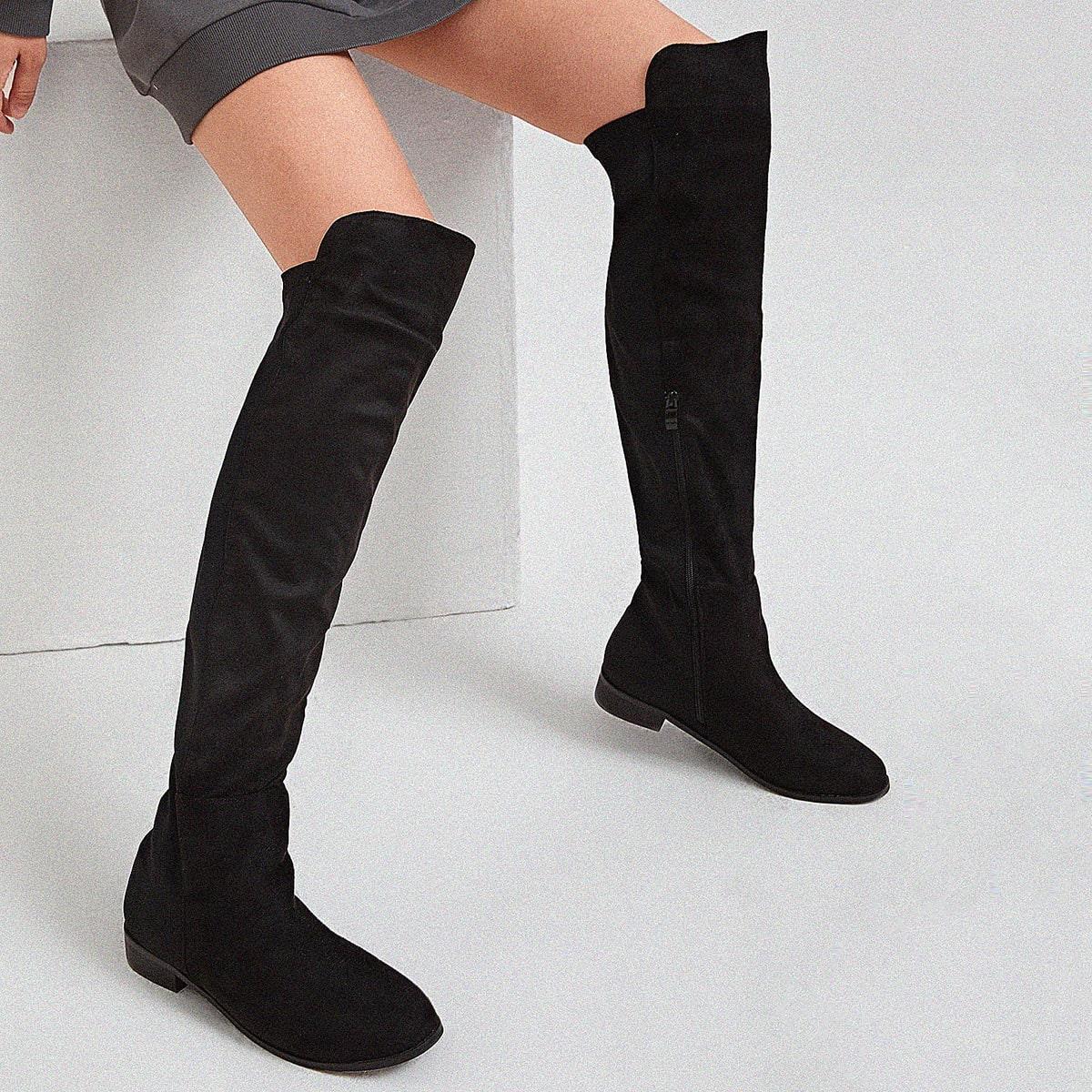 SHEIN / Minimalistische Socken-Stiefel