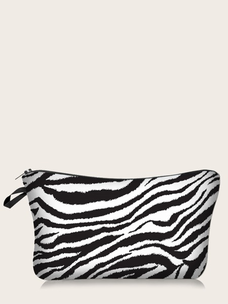 Zebra Stripe Makeup Bag