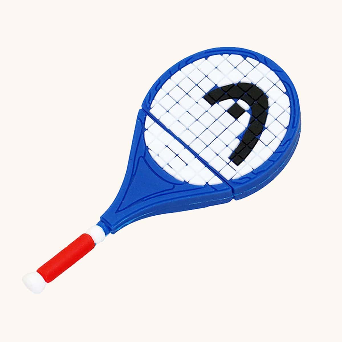 Memoria USB con diseño de raqueta de tenis