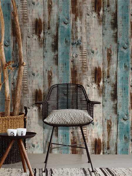 1sheet Wood Grain Wallpaper Sticker