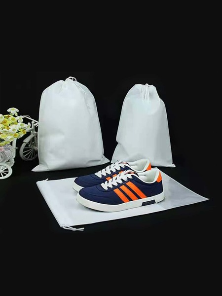 1pc Drawstring Travel Shoes Bag
