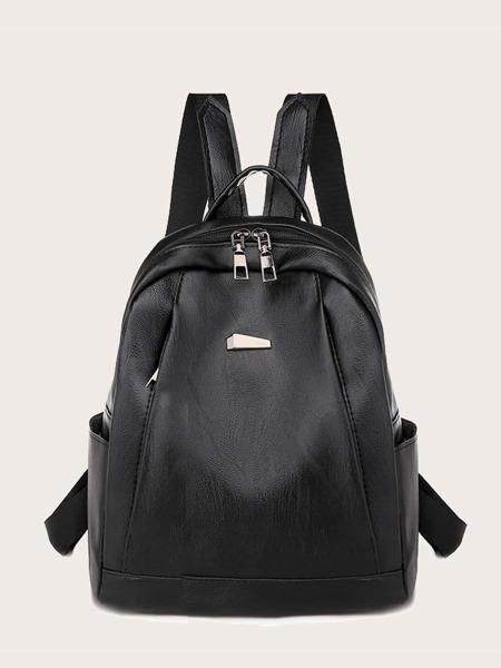 Metal Decor Backpack